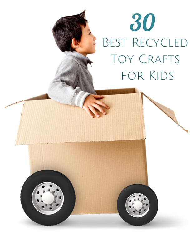 Hello wonderful 30 best recycled toy crafts for kids for Creative recycling ideas for kids