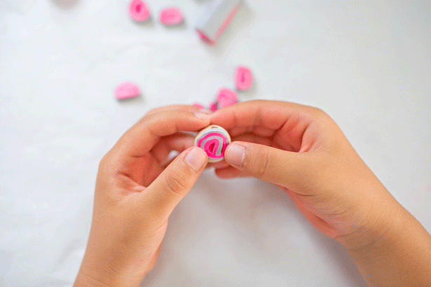 12 diy clay wooden beads