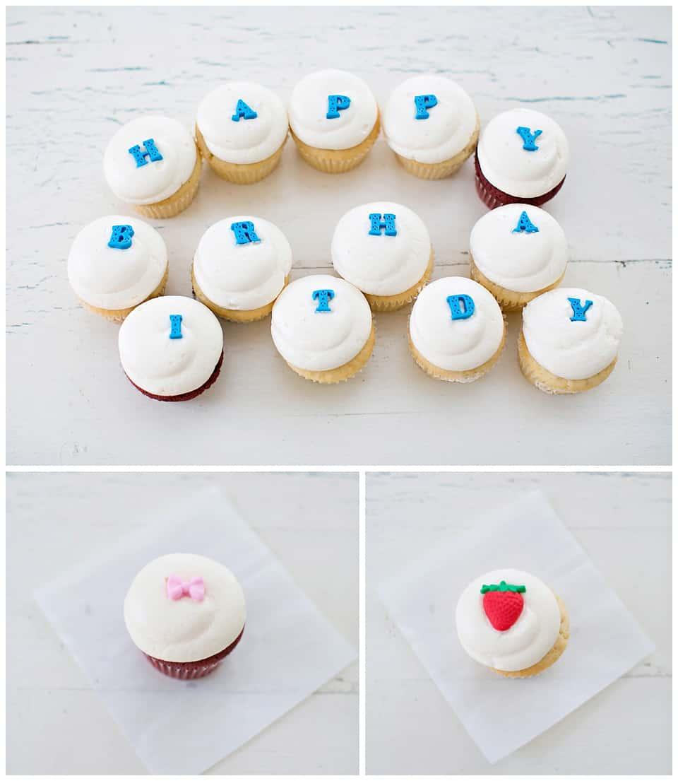 Hello Wonderful Easy Cupcake Fondant Decorations