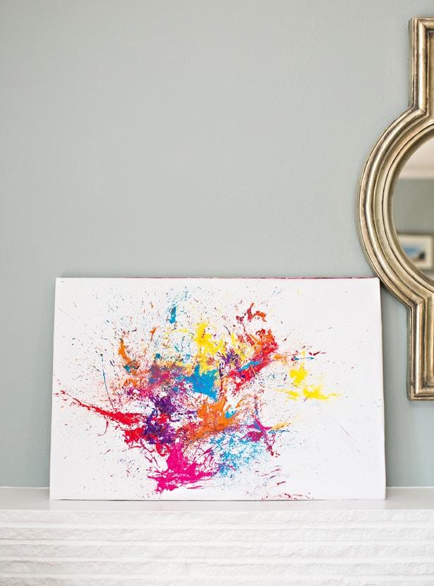 Easy Kids Canvas Paintings