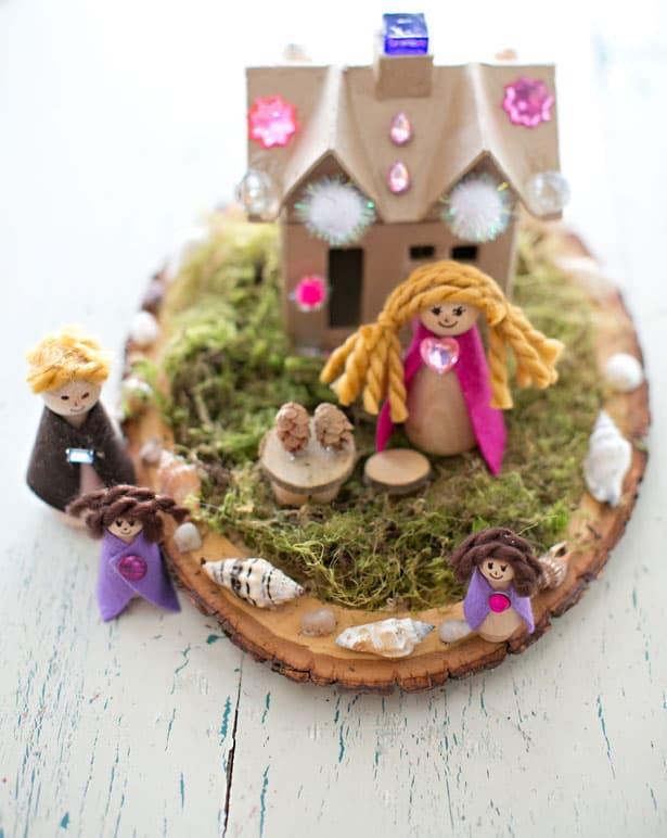 Hello Wonderful 15 Incredibly Cute Handmade Peg Doll Crafts
