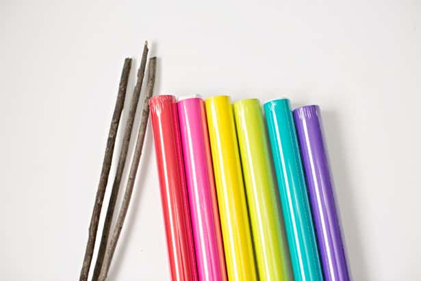 Large colored paper