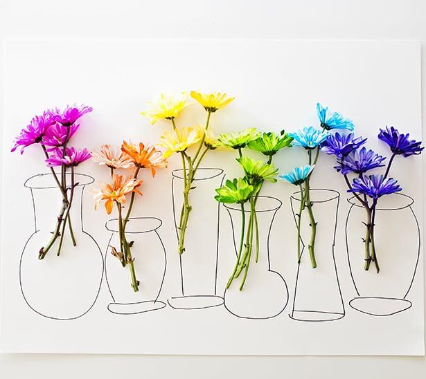 Hello Wonderful Rainbow Flower 3d Art With Video