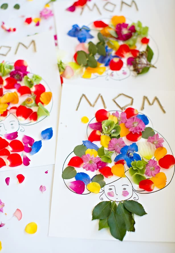 Hello Wonderful Mother S Day Flower Art With Free Printable