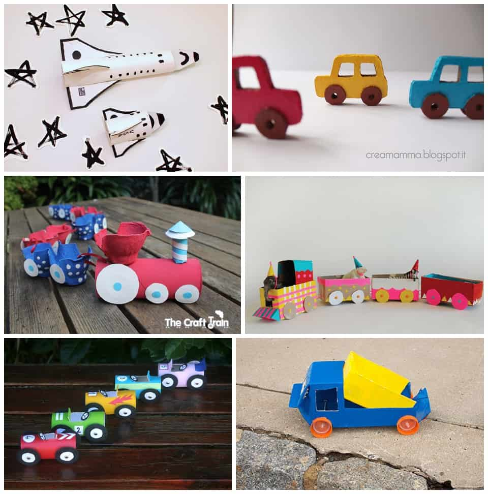 Hello wonderful 30 best recycled toy crafts for kids for Items made from waste material for kids