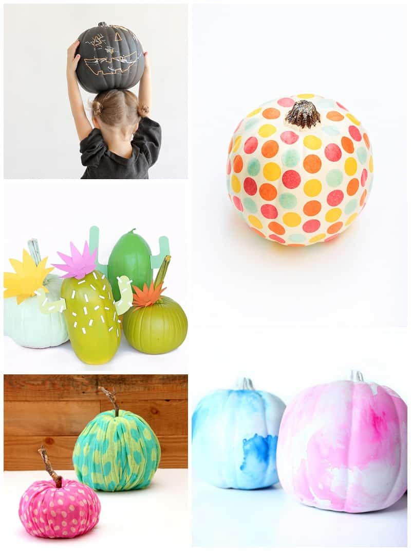 hello, Wonderful - 25 UTTERLY ADORABLE NO CARVE PUMPKIN DECORATING ...