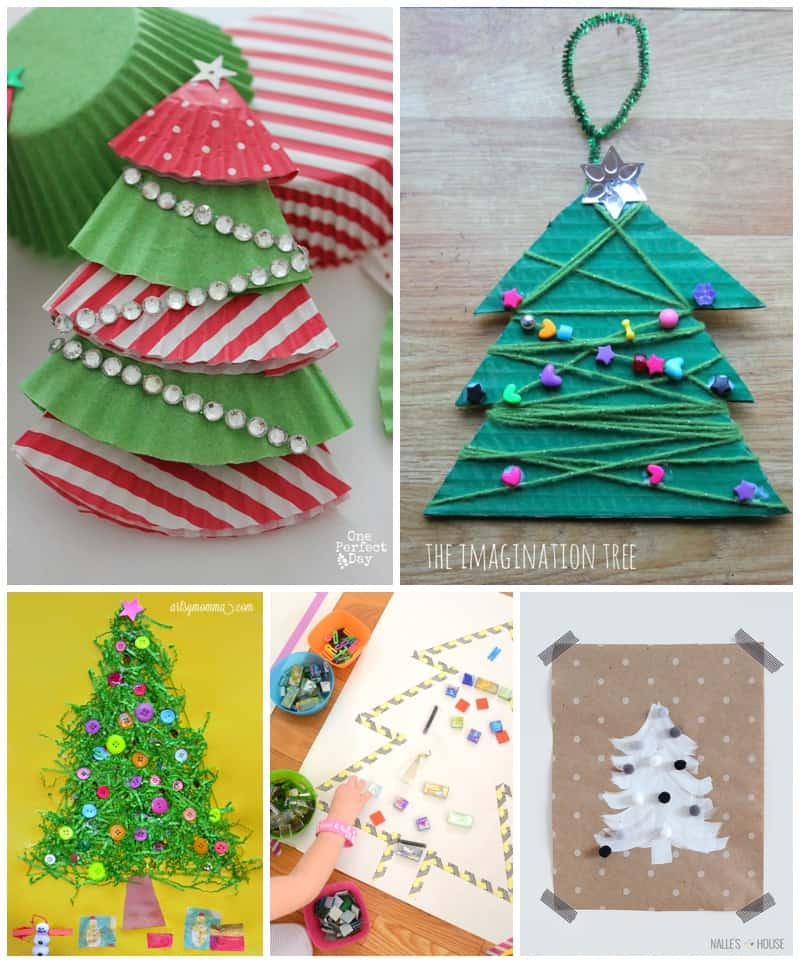 Hello wonderful 25 of the most adorable christmas tree for Christmas tree arts and crafts