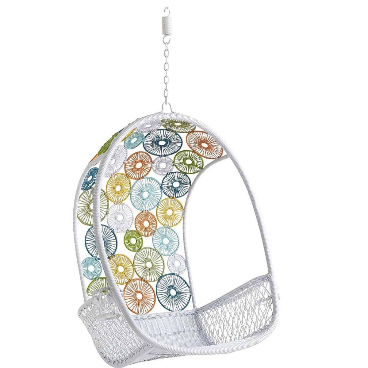 Hello wonderful 10 awesome hanging chairs for kids - Pier one peacock chair ...