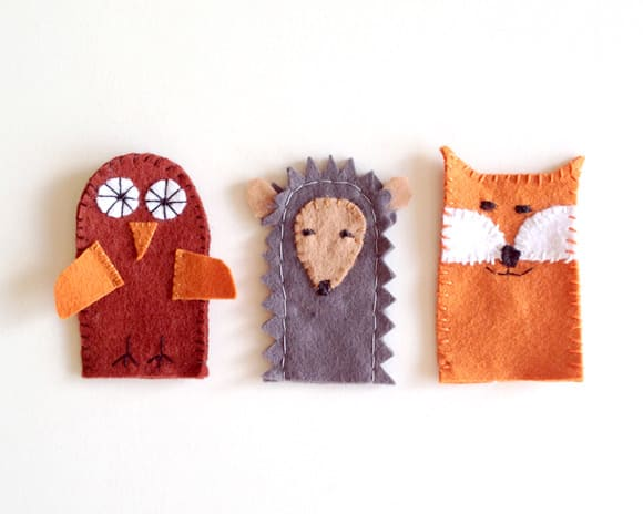 hello wonderful   5 easy and playful finger puppet projects