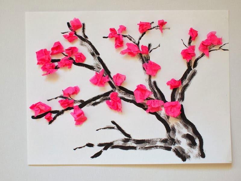Hello Wonderful 6 VIBRANT SPRING TREE CRAFTS