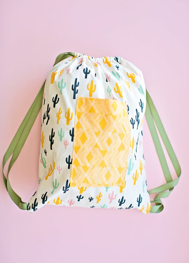 hello, Wonderful - SEWING WITH KIDS: 30 MINUTE DRAWSTRING FABRIC ...