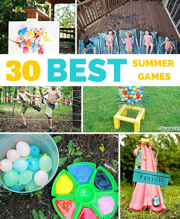 Image Gallery Outdoor Games And Activities