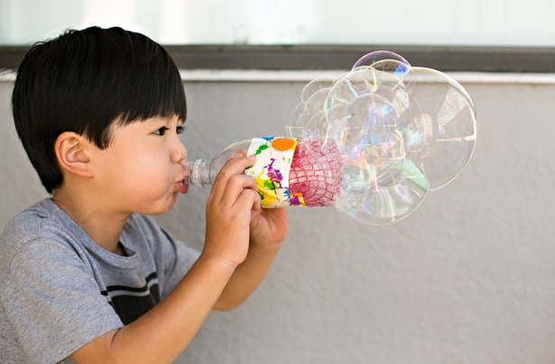 Hello Wonderful Diy Recycled Bottle Bubble Blower