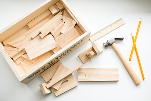 hello, Wonderful - WOODWORKING KIT FOR KIDS FROM LAKESHORE LEARNING