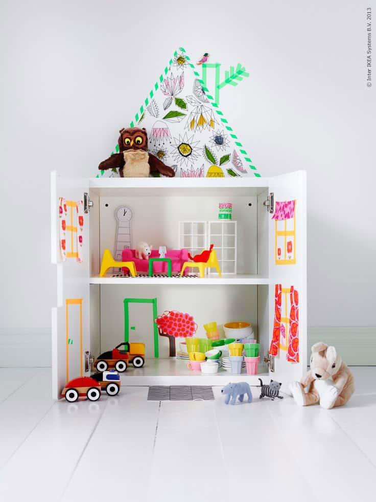 Hello wonderful 10 brilliant ways to play with washi tape - Deco meisjes slaapkamer ...