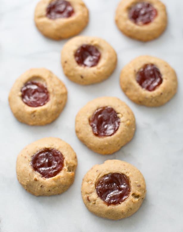 Pecan Thumbprint Jam Cookies Recipes — Dishmaps