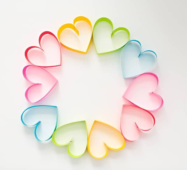 How To Make A Paper Heart Step By Step Instructions