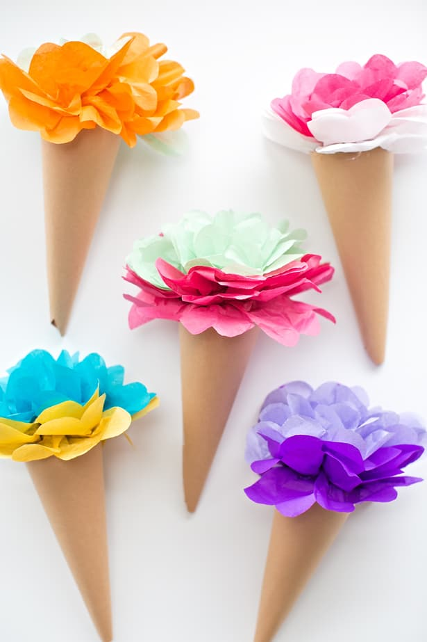 Diy Paper Flowers For A Beautiful Never Wilting Spring Bouquet