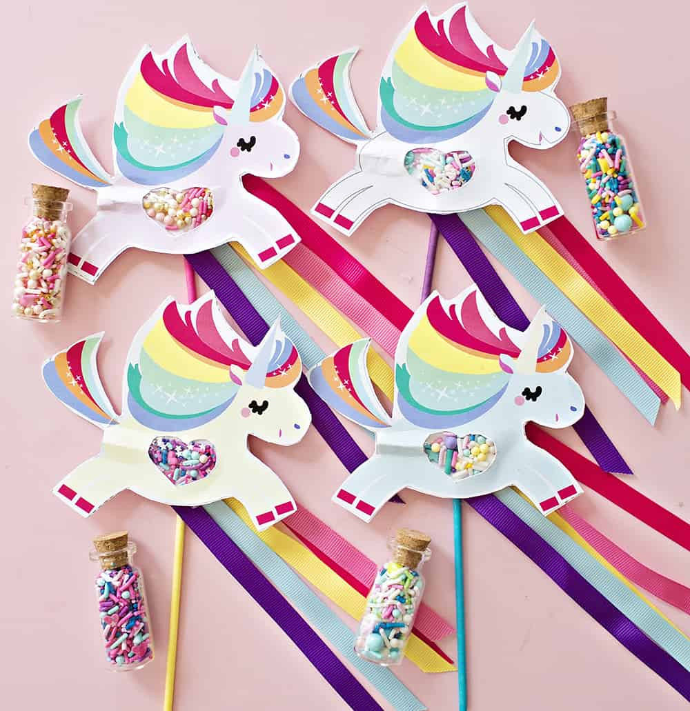 hello, Wonderful - MAGICAL UNICORN POOPING SPRINKLES PAPER