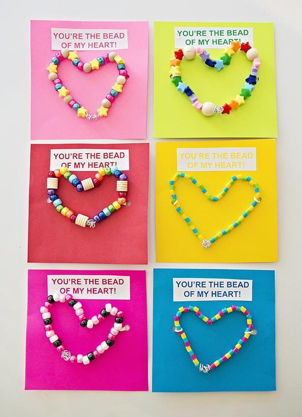 hello Wonderful DIY WIRE BEAD HEART VALENTINE CARDS – Valentines Cards Friends