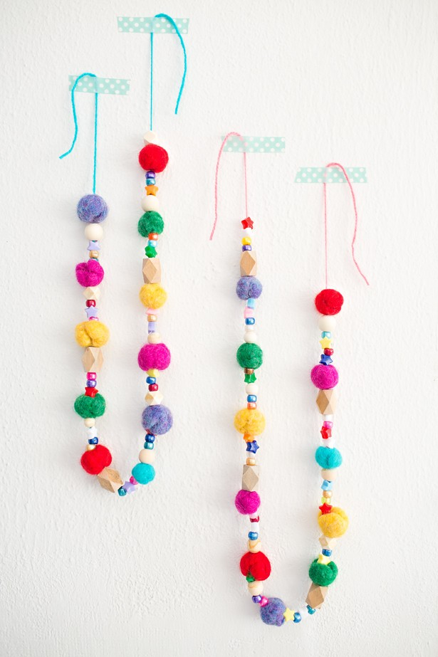 Make Christmas Tree Garland