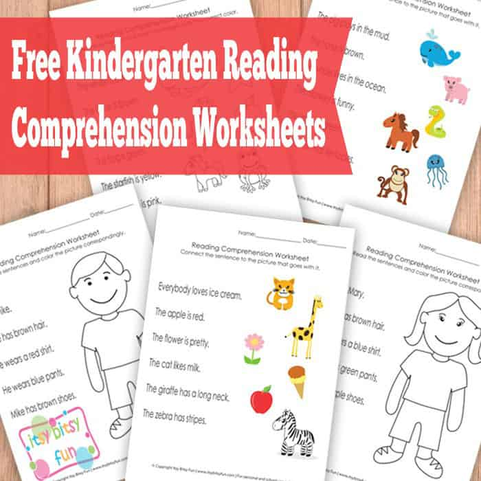 math worksheet : hello wonderful  free printable kindergarten reading worksheets : Free Printable Worksheets For Kindergarten Reading