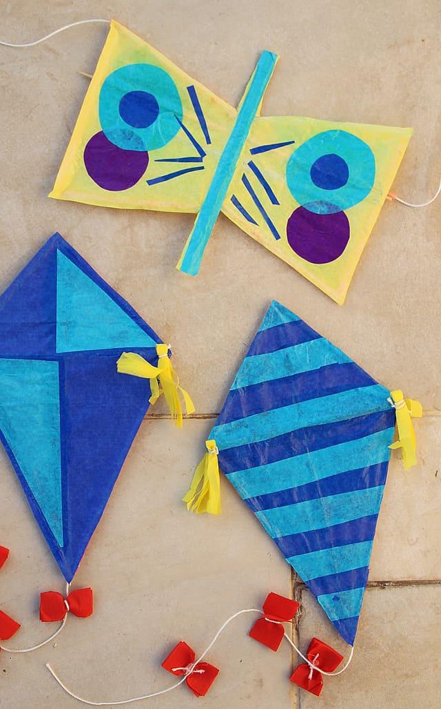 Hello Wonderful 10 Fun Ways To Make A Kite