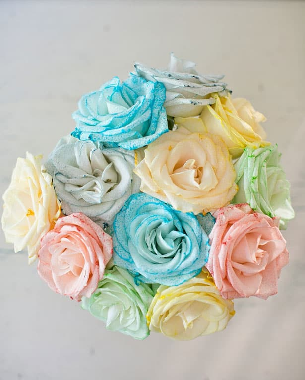 Hello wonderful 12 lovely mother 39 s day gifts kids can make for Can you dye roses