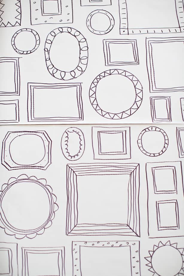 Enchanting How To Draw A Frame Picture Collection - Frames Ideas ...