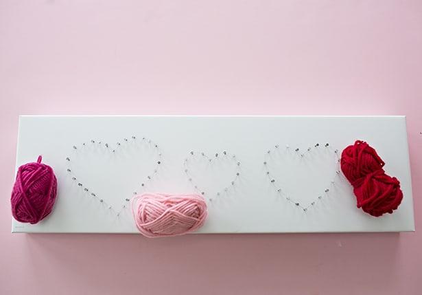 string art heart instructions