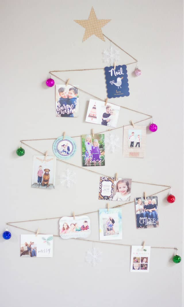 Hello Wonderful 10 Clever Ways To Display Holiday Cards