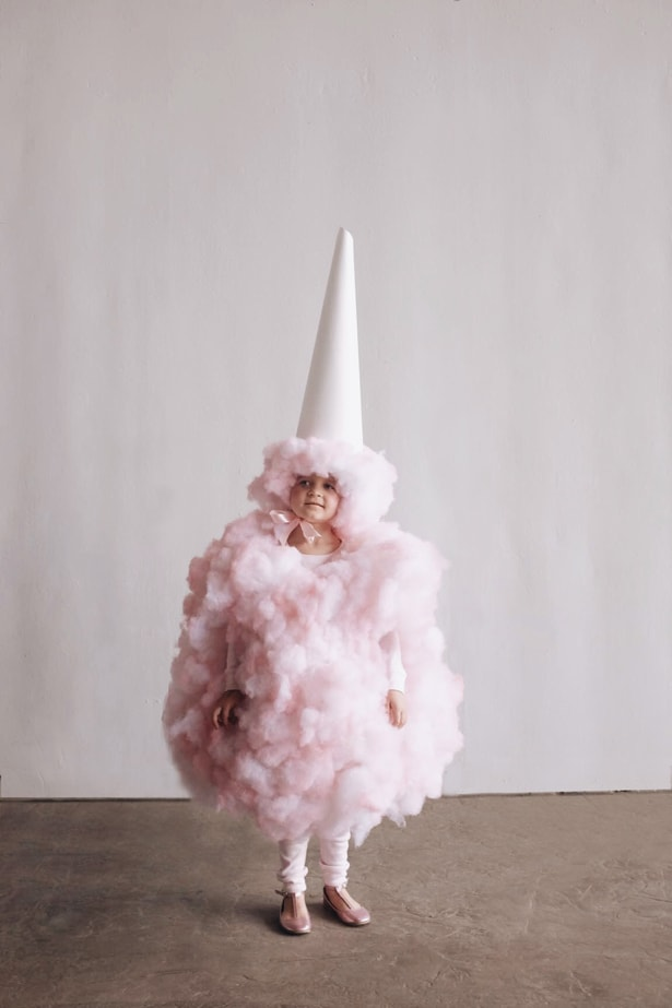 Hello Wonderful Amazing Diy Cotton Candy Costume For Kids