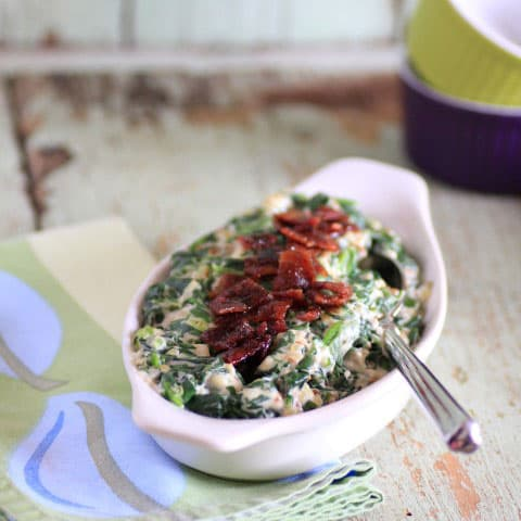 Creamed Spinach (via Noshing With The Nolands ) This popular dip is ...