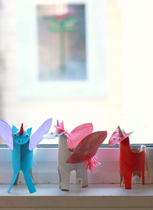 Hello wonderful 10 magical unicorn crafts for Unicorn crafts for kids