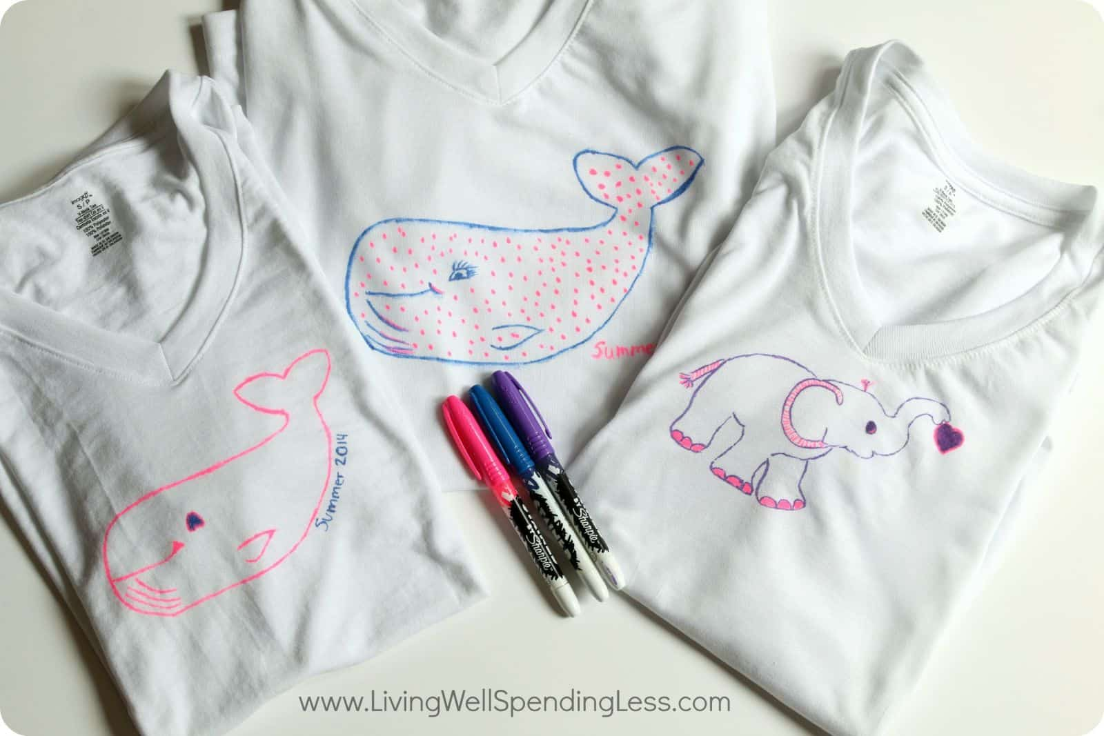 Craft ideas with sharpies - 10 Creative And Easy Sharpie Projects For Kids