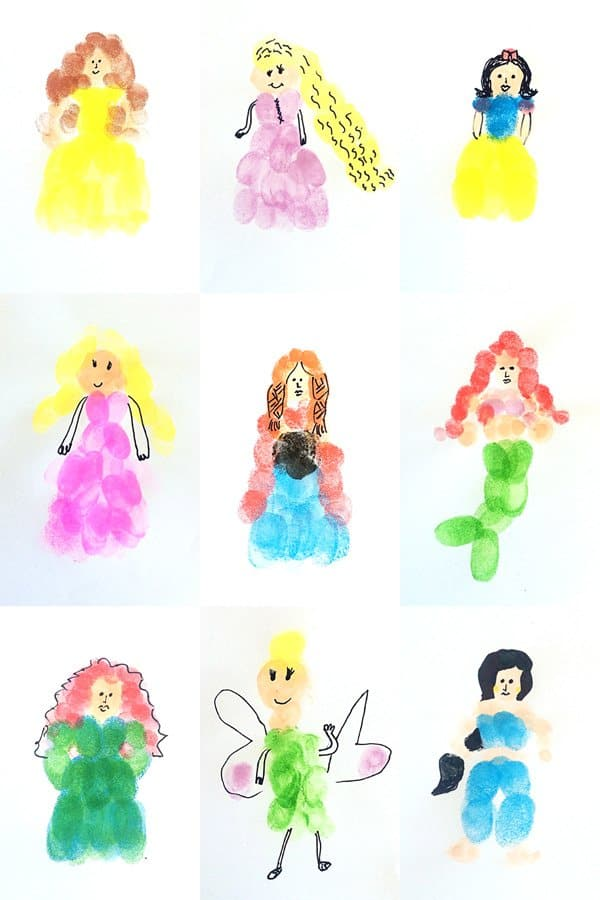 1000  images about Fingerprint Art on Pinterest | Easy peasy, Free ...