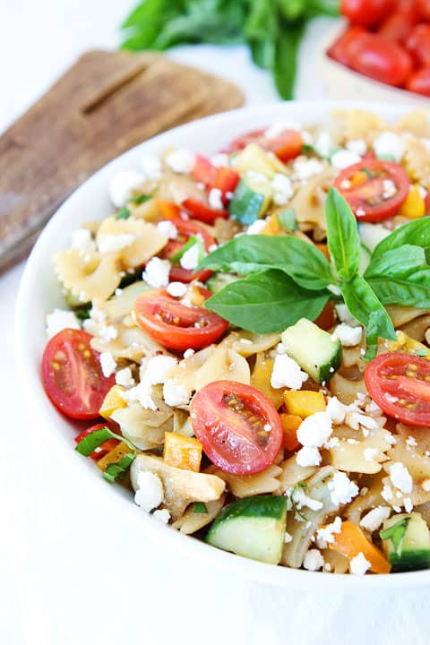 Summer Pasta Salad (via Two Peas and Thier Pod )