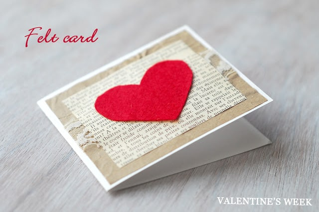 hello Wonderful 12 HEARTFELT VALENTINES DAY CARDS KIDS CAN MAKE – How Do You Make a Valentine Card