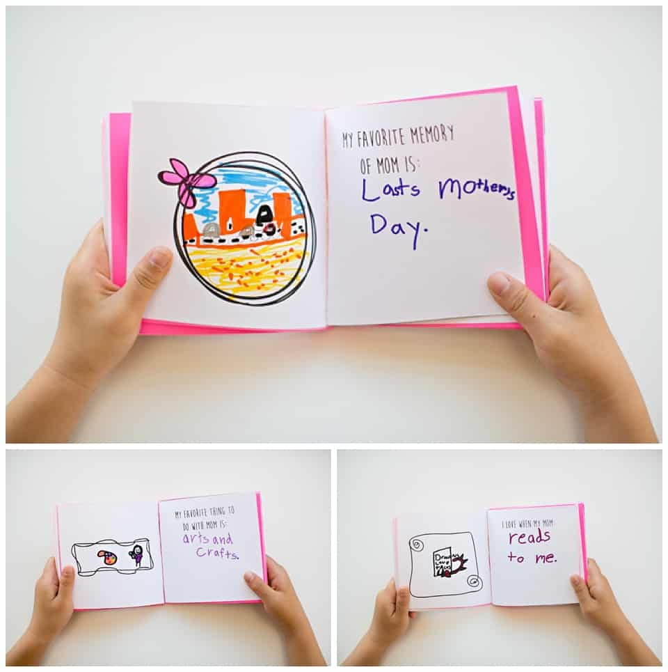 Printable Mother's Day Book - Hello, Wonderful