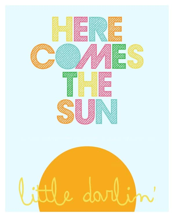 10 free printable inspirational prints for kids - Kid Prints