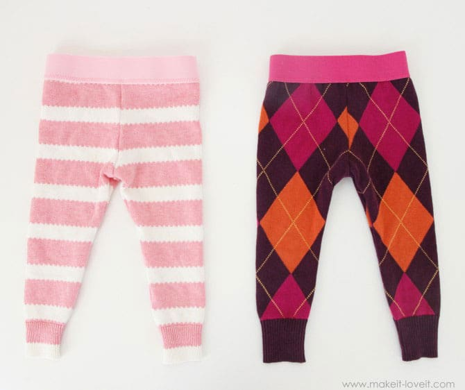 These Leggings Are Sure To Keep Chubby Baby Thighs Cozy And Warm In A Special Handmade Style