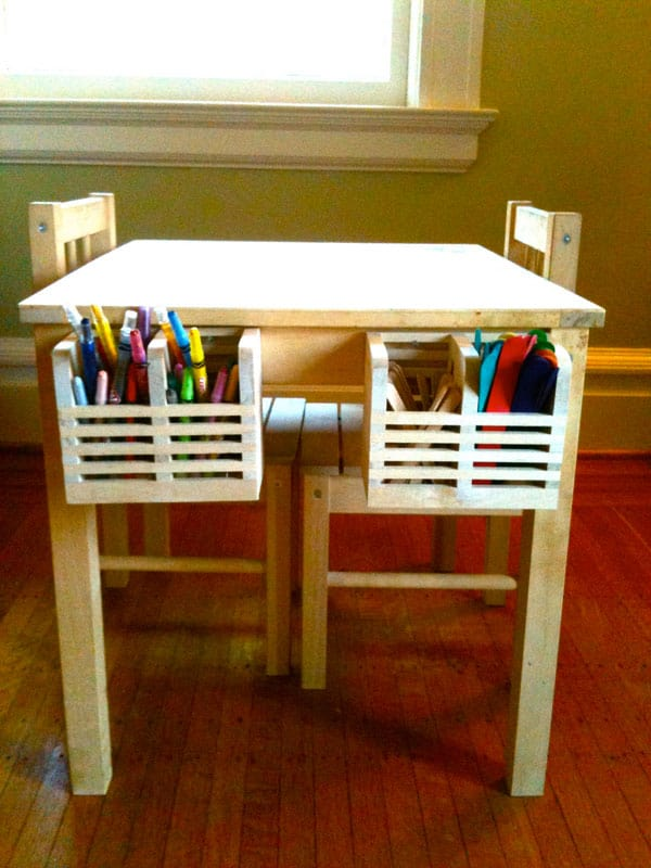 Hello wonderful 10 creative ikea hacks for kids 39 rooms for Table for kids room