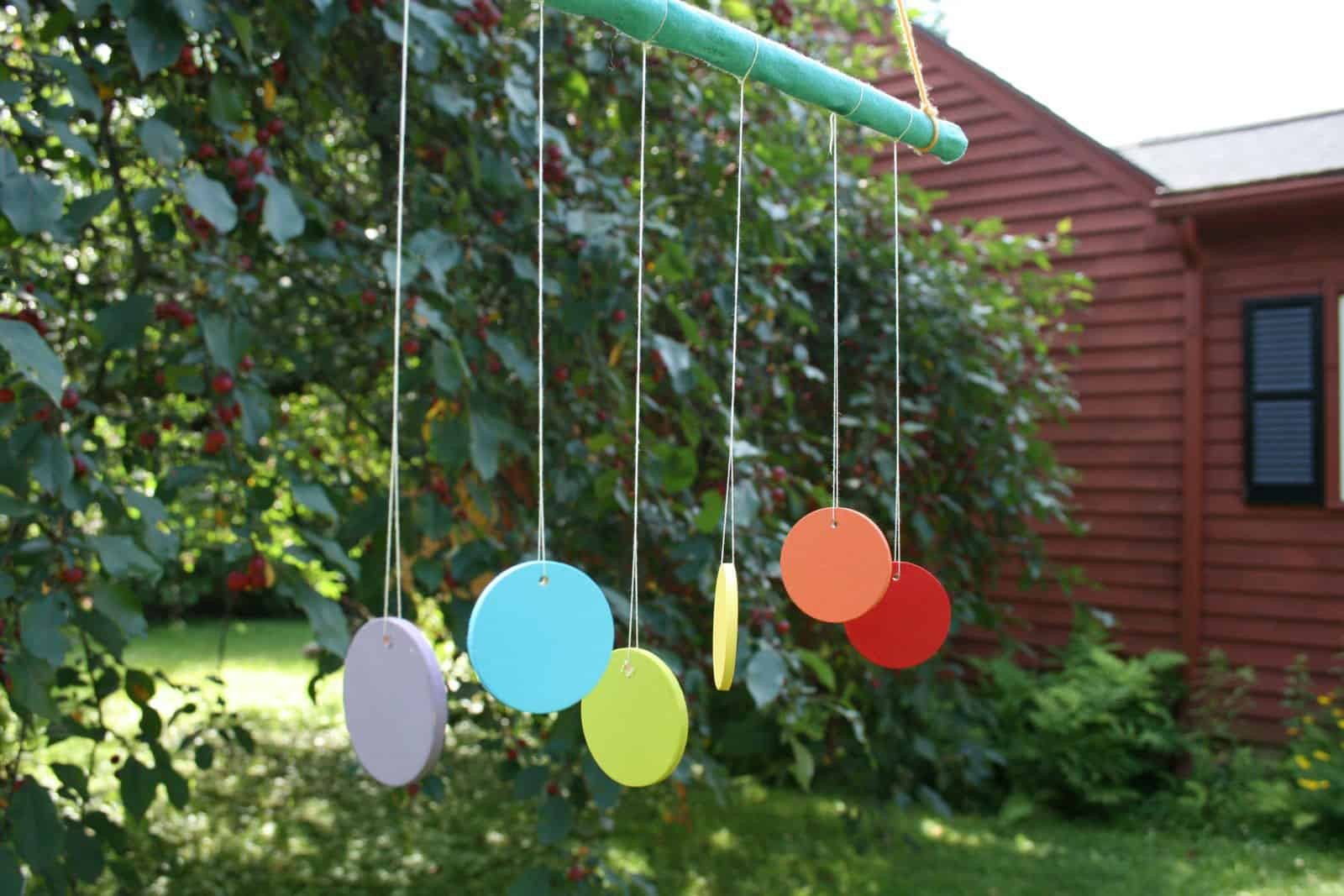Hello wonderful 5 creative diy wind chimes for How to make a simple wind chime