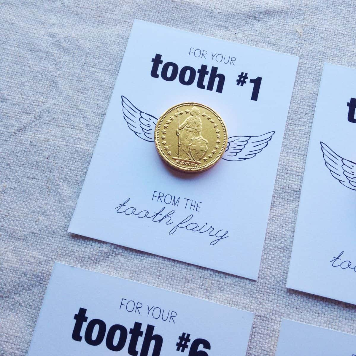 gold tooth fairy