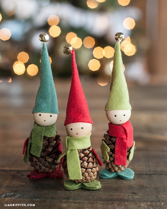 Handmade Felt Christmas Stockings