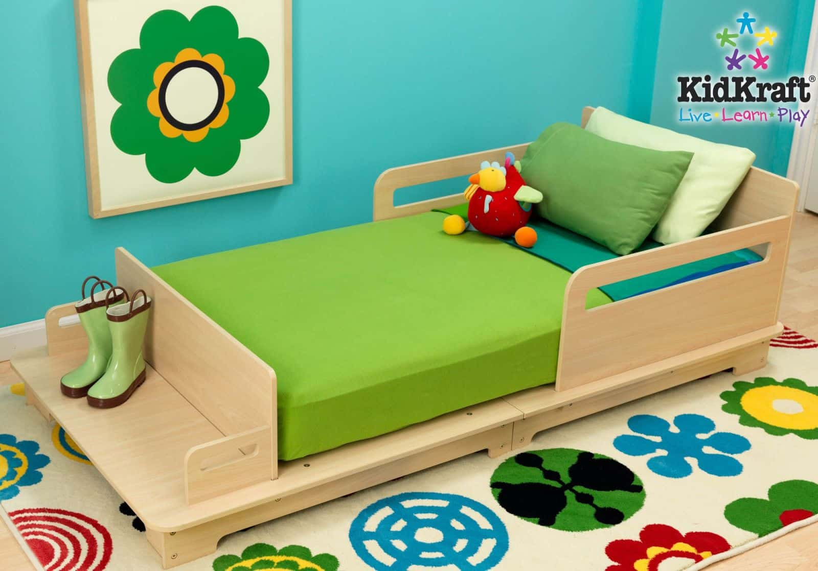 Hello wonderful 7 modern toddler beds for Modern kids bunk beds