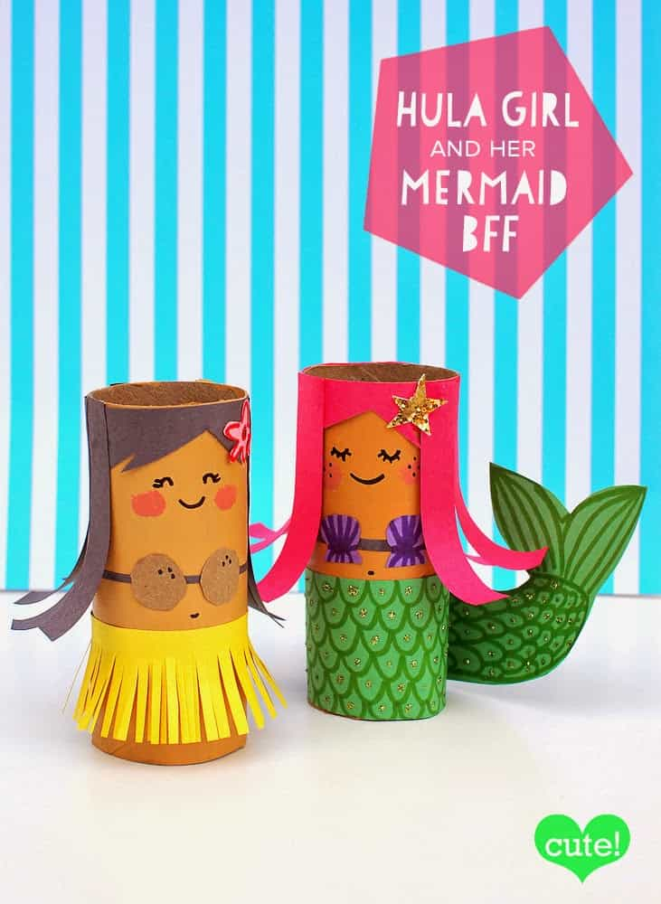 Hello wonderful 10 playful paper tube characters to make for Tissue tube crafts