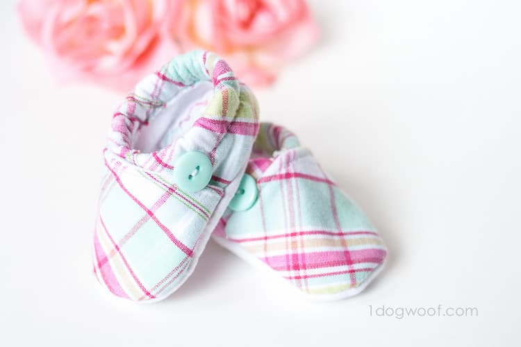 Cloth Baby Shoe Pattern Free