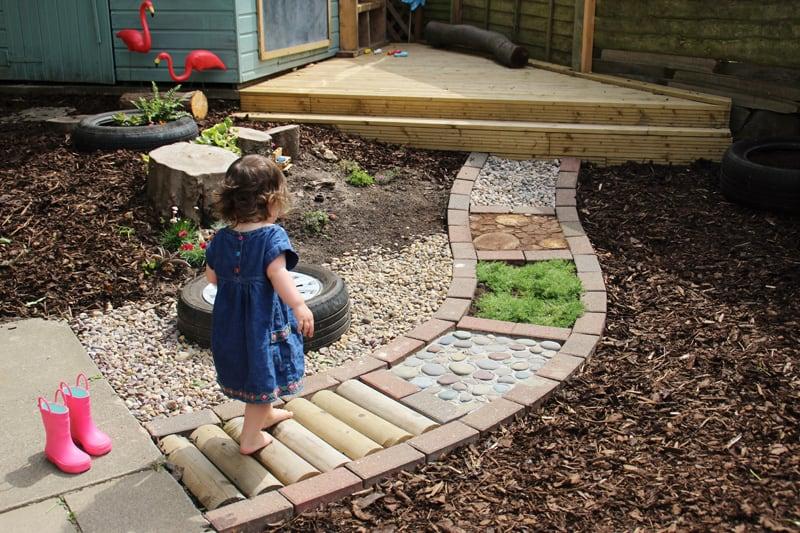 Walk In Garden Box: 12 CREATIVE SENSORY WALK ACTIVITIES FOR