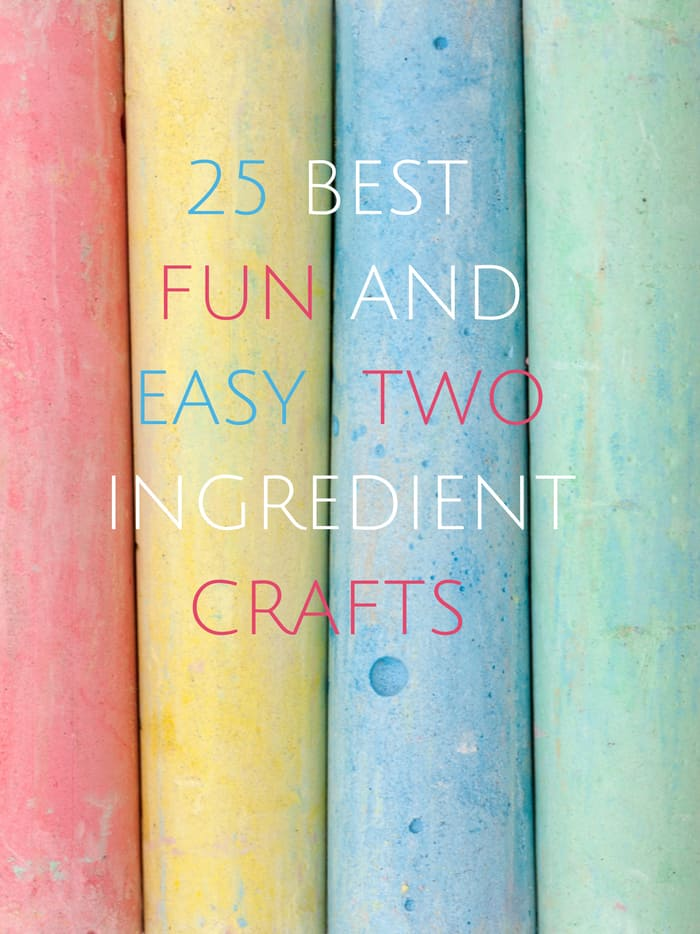 hello wonderful 25 best fun and easy two ingredient crafts